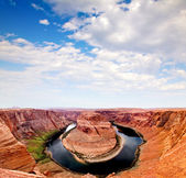 Horse Shoe at the Grand Canyon — Stock Photo
