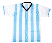 Argentinean football shirt — Stock Photo