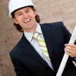 Royalty-Free Stock Photo: Engineer at a construction site