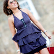 Shopping woman outdoors — Stock Photo #10597692