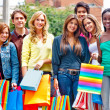Group of shopping — Stock Photo #10597841