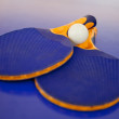 Ping pong set - Foto Stock