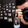 Male photographer - Stock Photo