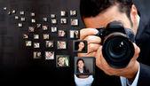 Fotógrafo masculino — Foto de Stock