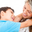 Loving mother and son — Stock Photo #10634286