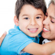 Royalty-Free Stock Photo: Affectionate mother and son