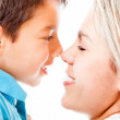 Mother and son — Stock Photo #10634314
