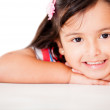 Stock Photo: Sweet little girl
