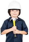 Budowa robotnik — Zdjęcie stockowe