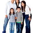 Latin american family — Stock Photo #8831915