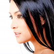Woman with black hair — Stock Photo #8831929