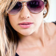 Woman portrait with sunglasses — Stock Photo #8831956