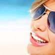 Woman with sunglasses — Stock Photo #8831958