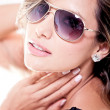 Sexy woman with sunglasses — Stock Photo #8831960