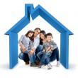 Stockfoto: Family house