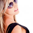 Woman with sunglasses — Stock Photo #8831965