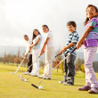 Golf players — Stock Photo #8832008