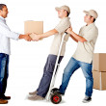 serviços de entrega — Foto Stock