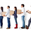 Delivery chain — Stock Photo