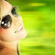 Woman with sunglasses — Stock Photo #8832234