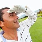 jugador de golf masculino — Foto de Stock