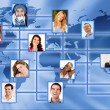 Global network — Stock Photo #8832604
