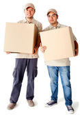 Delivery men — Stock Photo