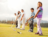 Golf players — Stock Photo