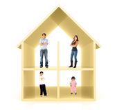 Family home — Stock Photo