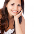 Beautiful happy woman — Stock Photo
