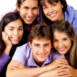 Group of young — Stock Photo #8849304