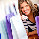 Happy shopping woman — Stock Photo #8849414