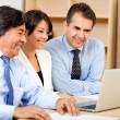 Stock Photo: Business team working
