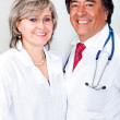 Stock Photo: Couple of doctors