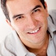 Handsome man smiling — Stock Photo #8849669