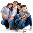 Latinamerican family — Foto Stock