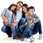 ラテン アメリカの事情家族 — ストック写真