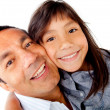 Daddys girl - Stock Photo