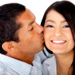 Couple kissing — Stock Photo #8849815