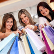 Group of shopping women — Stock Photo #8849867