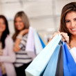 Stock Photo: Female shoppers