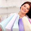 Woman with shopping bags — Stock Photo #8849875