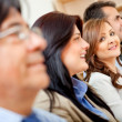 Business group in row — Stock Photo #8849955