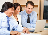 Business team working — Stock Photo