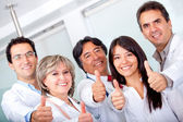 Doctors with thumbs up — Stock Photo