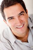 Bell'uomo sorridente — Foto Stock