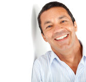 Happy latin man — Stock Photo