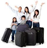 Family trip — Stock Photo