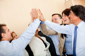 Business high-five — Stock Photo