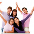 Happy group of friends — Stock Photo #8850094